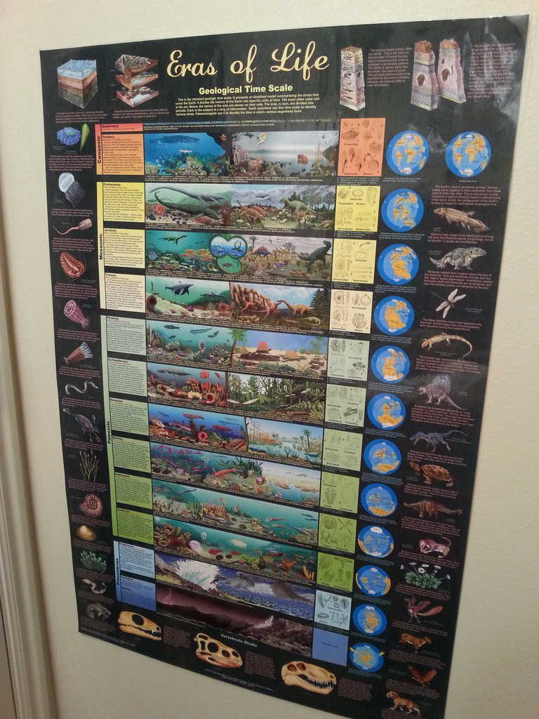 geology science poster