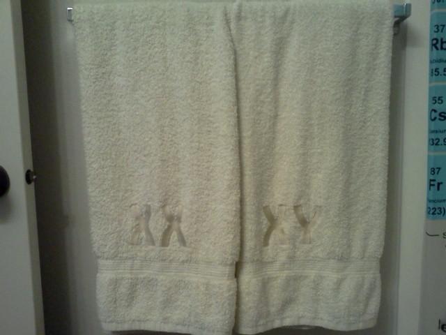 Chromosome Bath Towels