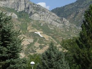 Y Mountain by BYU in Utah