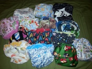 Geeky cloth diapers are fun!