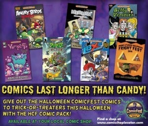 Give out comics instead of candy this Halloween