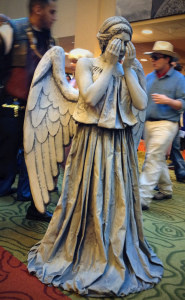 Don't blink!!! Image by  Tomasz Stasiuk via Flickr CC Attribution-ShareAlike License