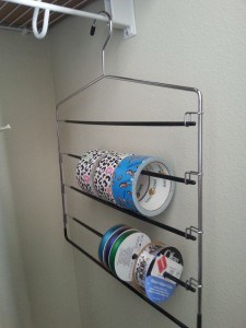 ribbon storage idea