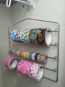 Duct Tape storage idea - slack rack