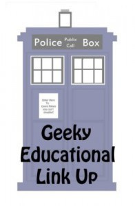 Geeky Educational Linkup Logo