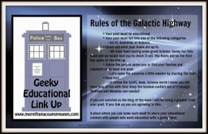 Rules for the Geeky Educational Link Up
