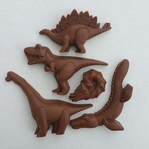 Chocolate dinosaur assortment