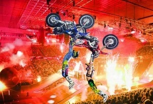 Wild stunts at Nitro Circus