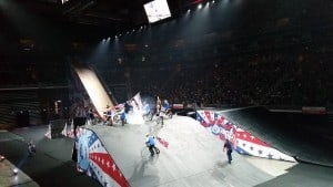 Motorcycles at Nitro Circus