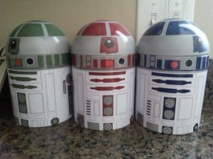 Star Wars Kitchen Ideas - Droid Canister Set