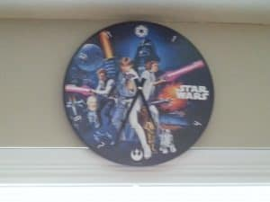 Star Wars Kitchen Ideas - Star Wars Clock