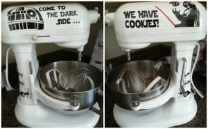 Star Wars Kitchen Ideas - Dark Side Mixer Decals