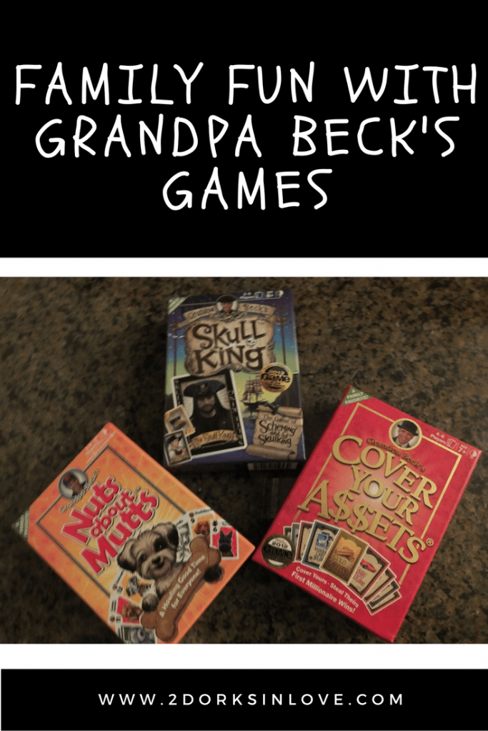 Grandpa Beck's Games are a lot of fun for the whole family!