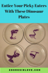 Entice Your Picky Eaters With These Fun Dinosaur Plates