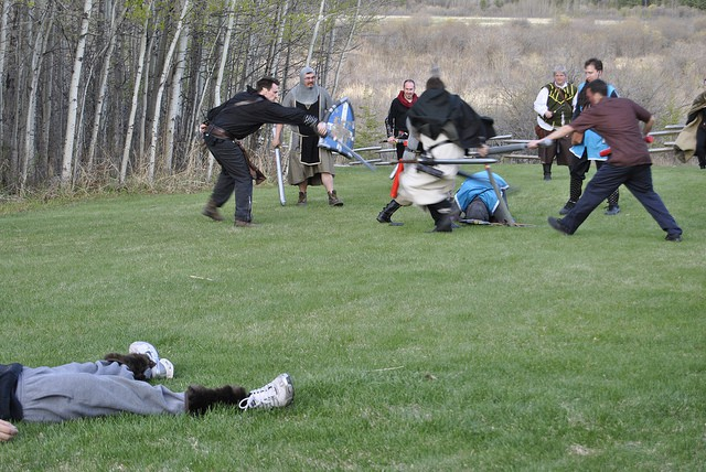 Mix fantasy with fitness through LARP